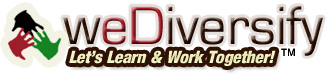 WeDiversify - Lets Learn & Work Together!
